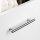 Emuca Möbelgriff, D. 12 mm, Achsabstand 256 mm, Stahl, Satiniert vernickelt