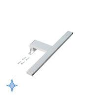 Emuca LED-Anbauleuchte für Badspiegel, 300 mm, IP44,...