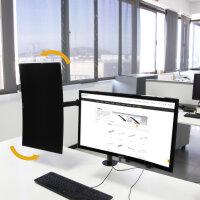 Emuca Doppelter Monitorständer 13 bis 32 Zoll...