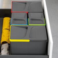 Emuca Behälter für Küchenschublade, H216,...