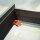 Emuca Satz versteckte Führungen für Schublade, Rollschub, 590 mm, Vollauszug, sanftes Schließen, zum Einhaken, Verzinkt